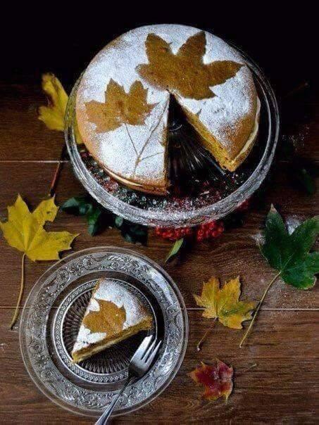 Gâteau automnal!!!!!