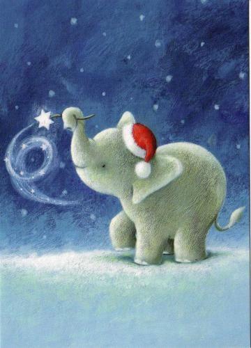 Elephant de Noël