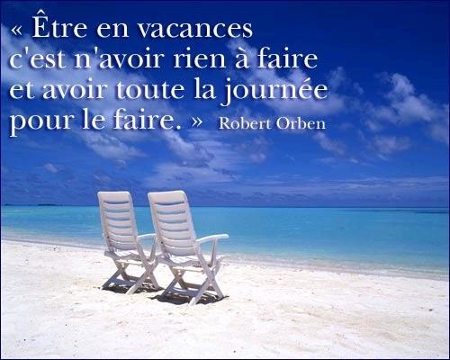 Enfin Les Vacances Citation Forumhulp