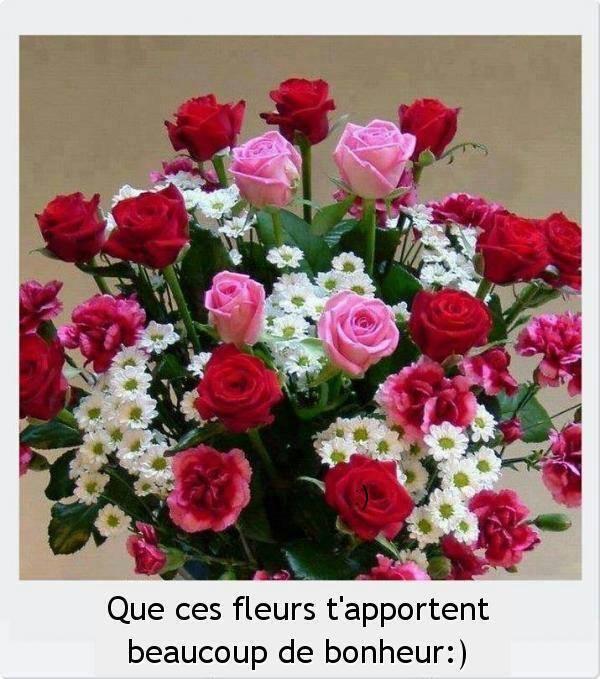 Kdos pour mes amises page 2 for Bouquet de fleurs pour 30 ans